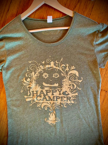 HAPPY CAMPER Ladies loose fit T
