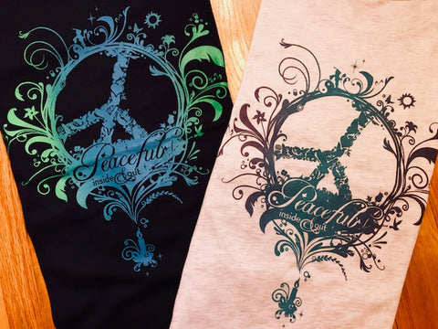 Women's Peaceful Relaxed and Junior Fit T-shirts - ON CLEARANCE!