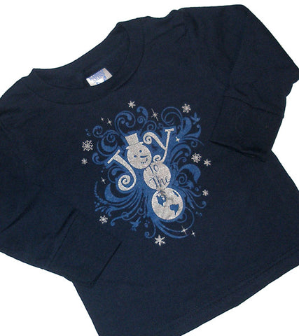 JOY TO THE WORLD infant long sleeve T- ON CLEARANCE!
