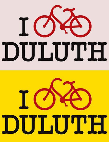 I BIKE DULUTH Bamboo T-shirt - ON CLEARANCE!