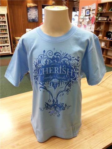 Cherish Organic Cotton - Youth Tee-  ON CLEARANCE!