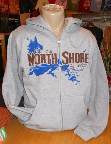 NORTH SHORE Sustainable Zip Hoodie