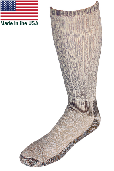 EchoGorge® Expedition Heavy Weight Merino Wool Boot Socks. Made in USA