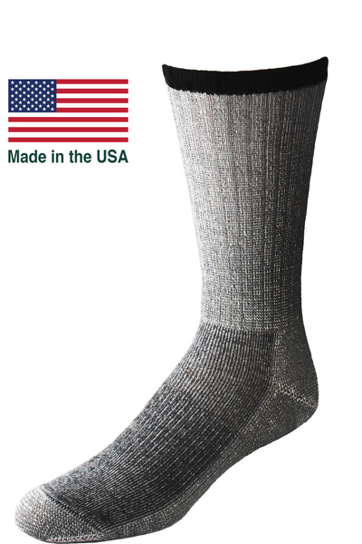 Merino Wool premium comfort hiking performance made in the USA socks