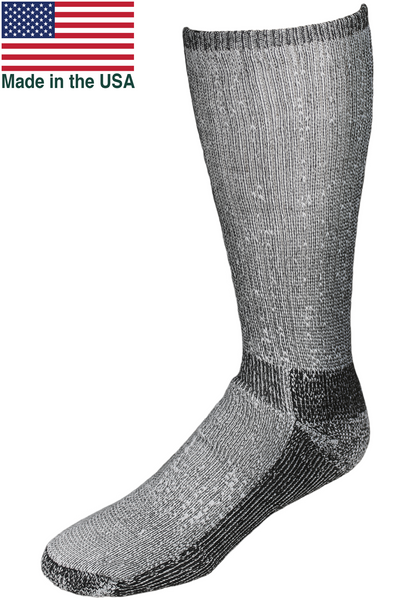 Merino Wool Boot Sock cushioned Made in USA