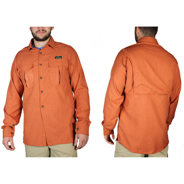 Canyon Men's Vented Hiking Shirt by EchoGorge®. Made in USA