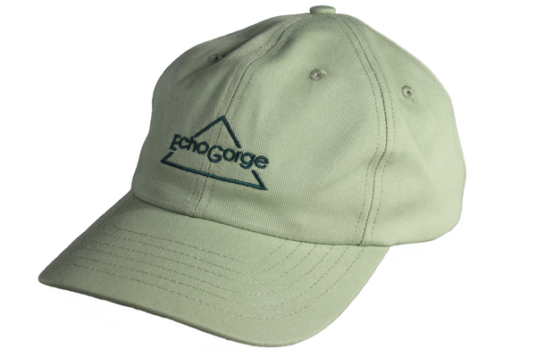 Twill Ball Cap, Sage Green.  Made in USA