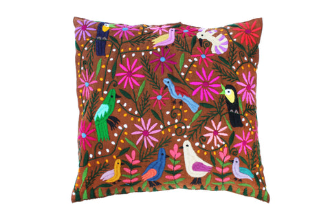 Pajaritos Pillow Cover