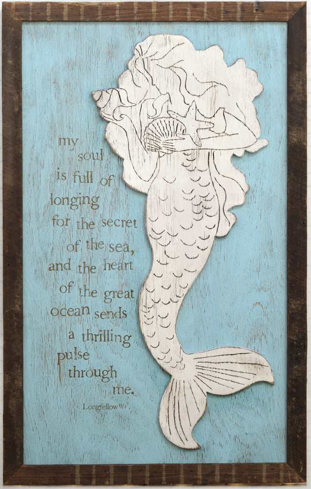 News Mermaid Wall Art