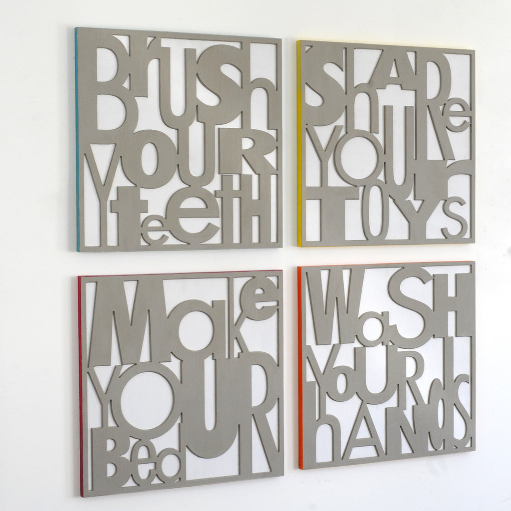 Oversized Wall Art Good Habit Formers - Haven America