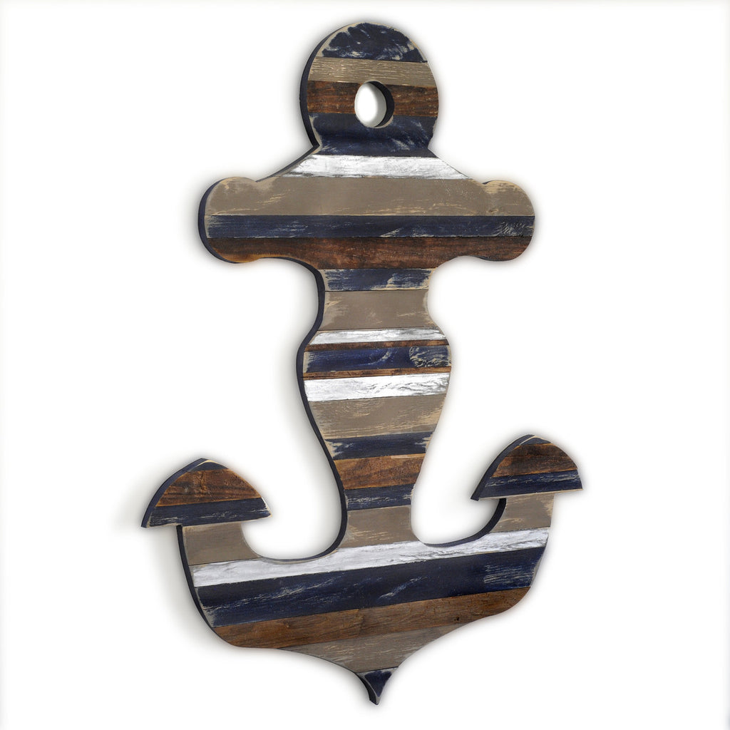 Admiral's Pallet Anchor Wall Art - Haven America