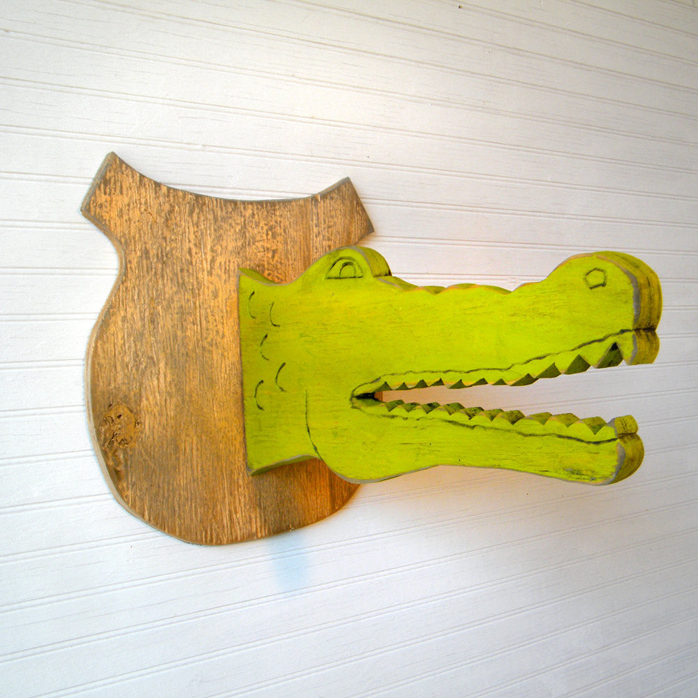 Alligator Trophy Head Wall Art - Haven America