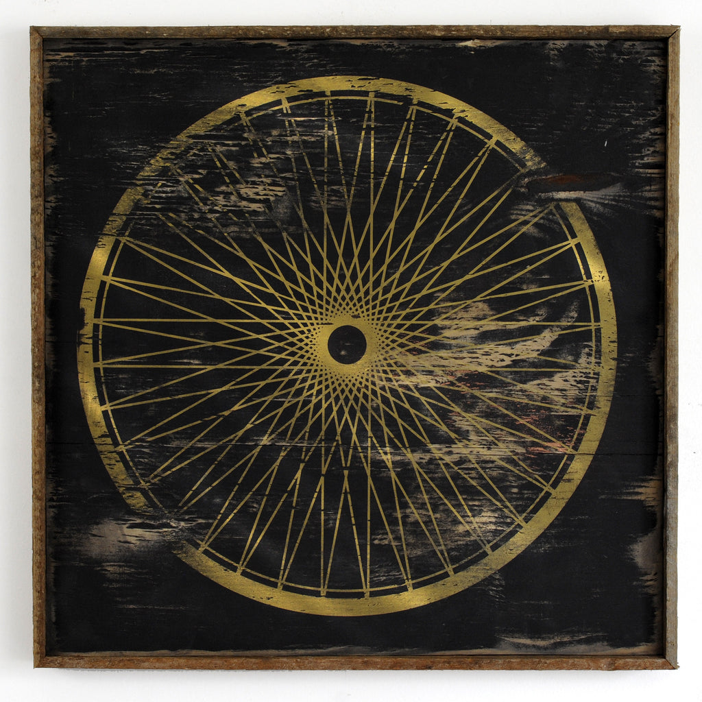 Bicycle Wheel Framed - Haven America