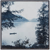 Canoe Lake Wood Print Wall Art - Haven America