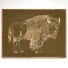 Carved Buffalo Wall Art - Haven America