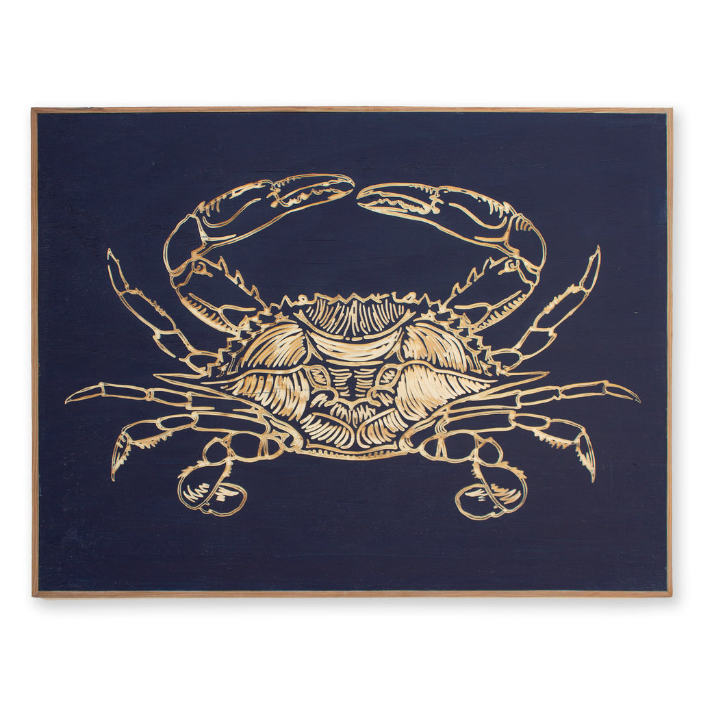 Carved Crab Wall Decor - Haven America