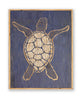 Carved Wooden Sea Turtle Framed Wall Art - Haven America