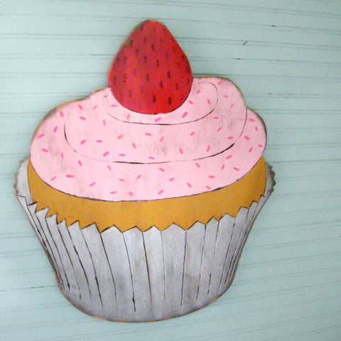 Cupcake Large Wall Art - Haven America