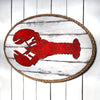 Dockside Lobster Wood and Rope Plaque - Haven America