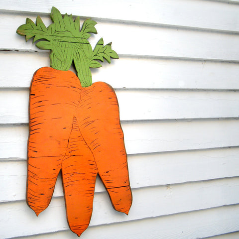 Carrot Vegetable Sign - Haven America