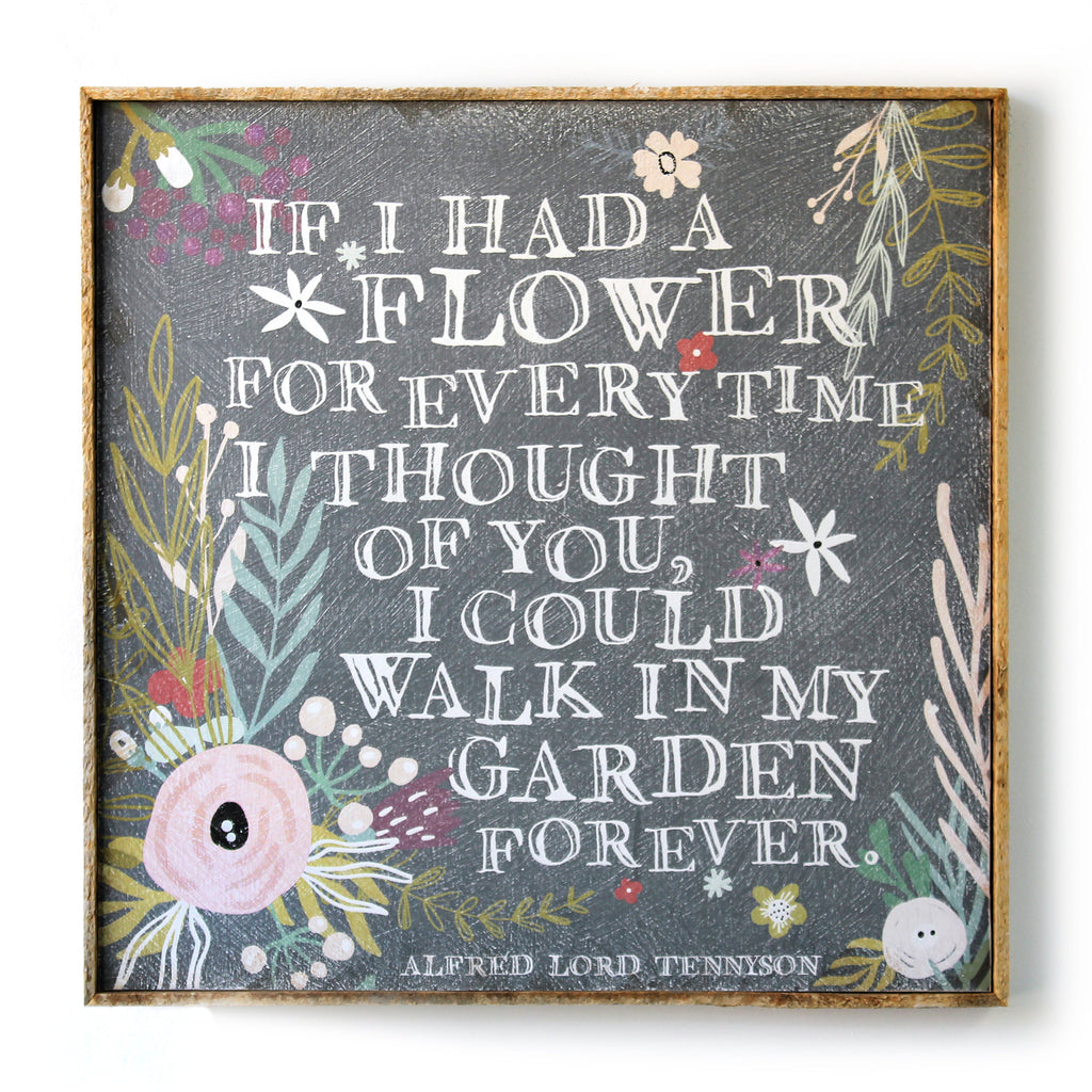 Garden Forever Framed SOUL Art Print - Haven America