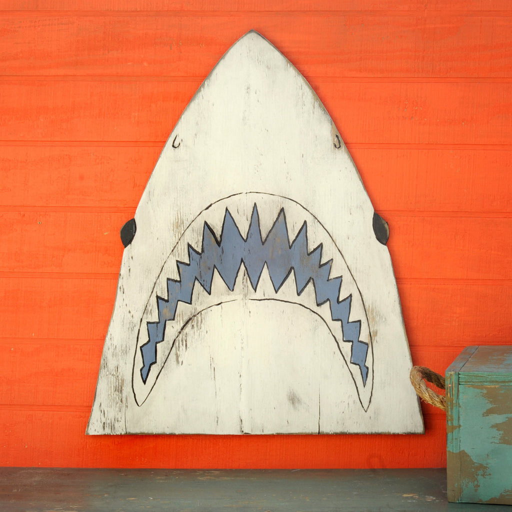 Jaws Shark Head Wall Decor - Haven America