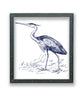 Great Blue Heron Print in Metal Frame - Haven America