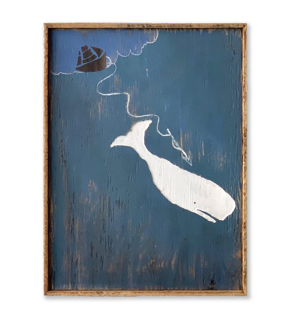 It is Moby Dick Framed Wall Art - Haven America