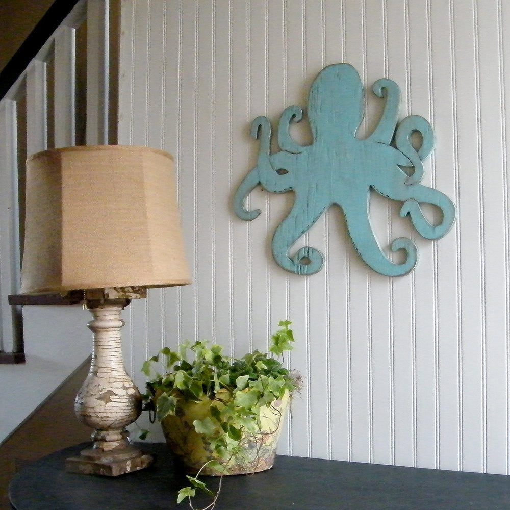 Octopus Coastal Wall Decor - Haven America