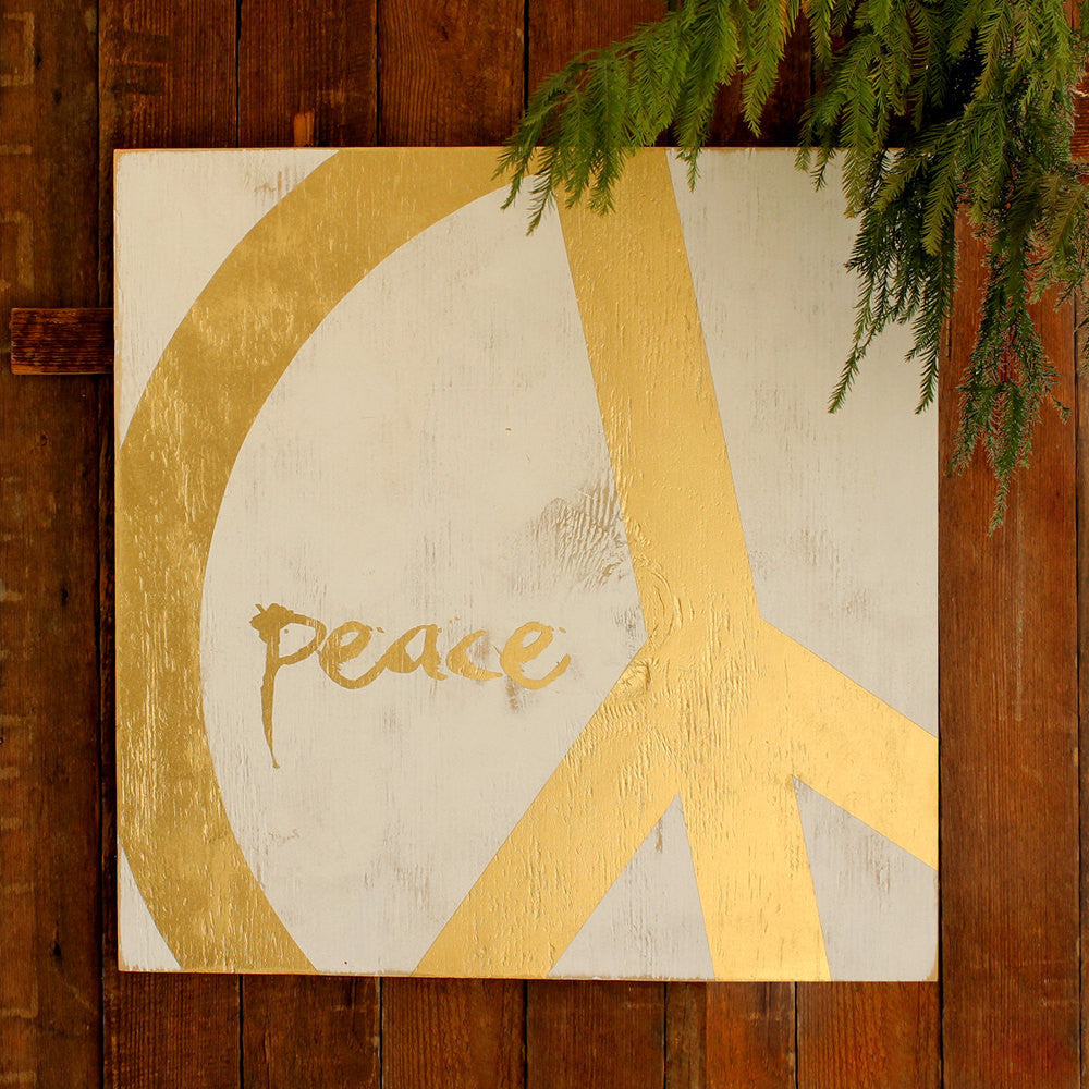 Modern Peace Sign 18