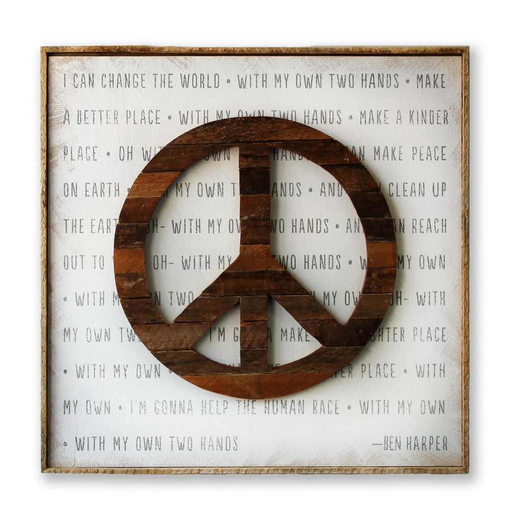 Change the World SOUL Art Print Framed - Haven America