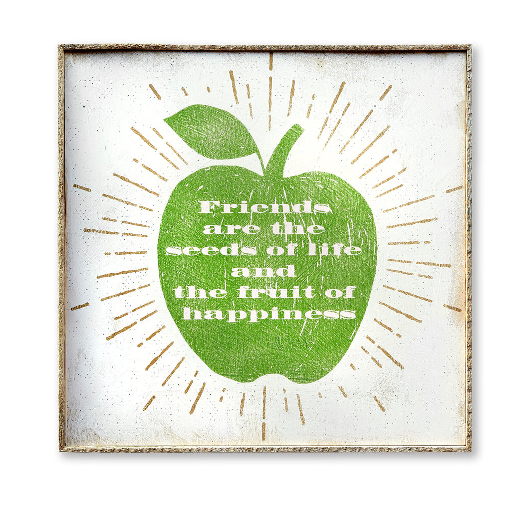 Friendship Apple SOUL Art Print - Haven America