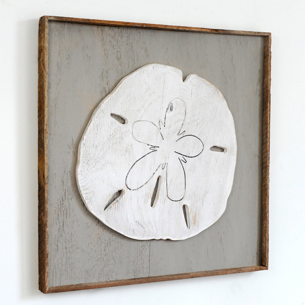 Giant Sand Dollar Framed Wall Art - Haven America