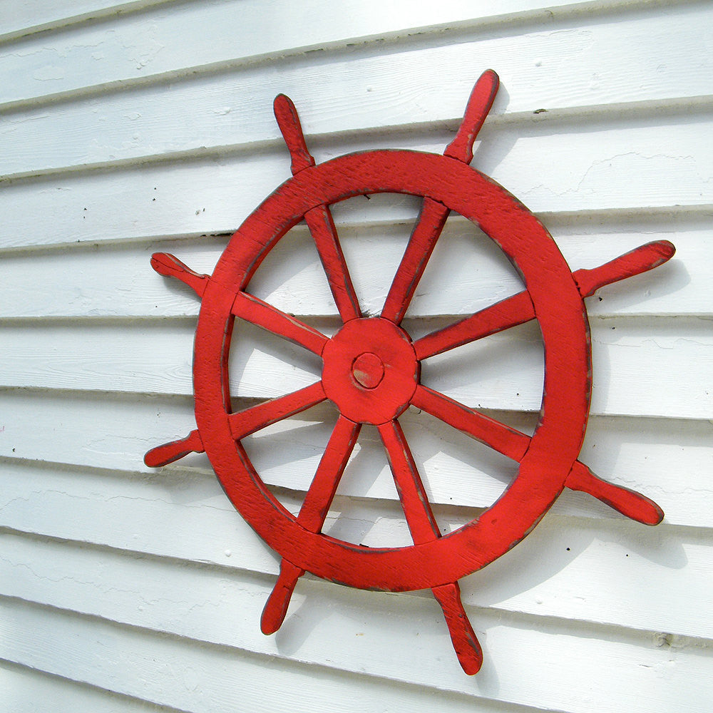 Ships Wheel Wall Decor - Haven America