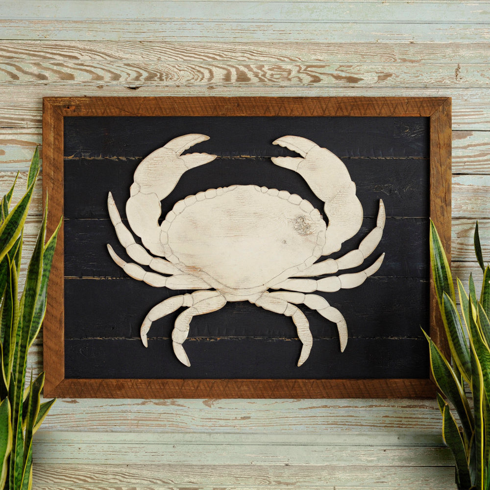 Sea Crab Framed - Haven America