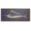 Carved Wooden Swordfish Framed Wall Art - Haven America