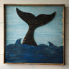 Whale Tail Framed