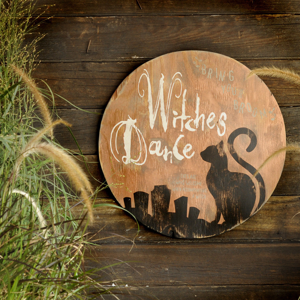 Witches Dance Moon Wall Decor - Haven America
