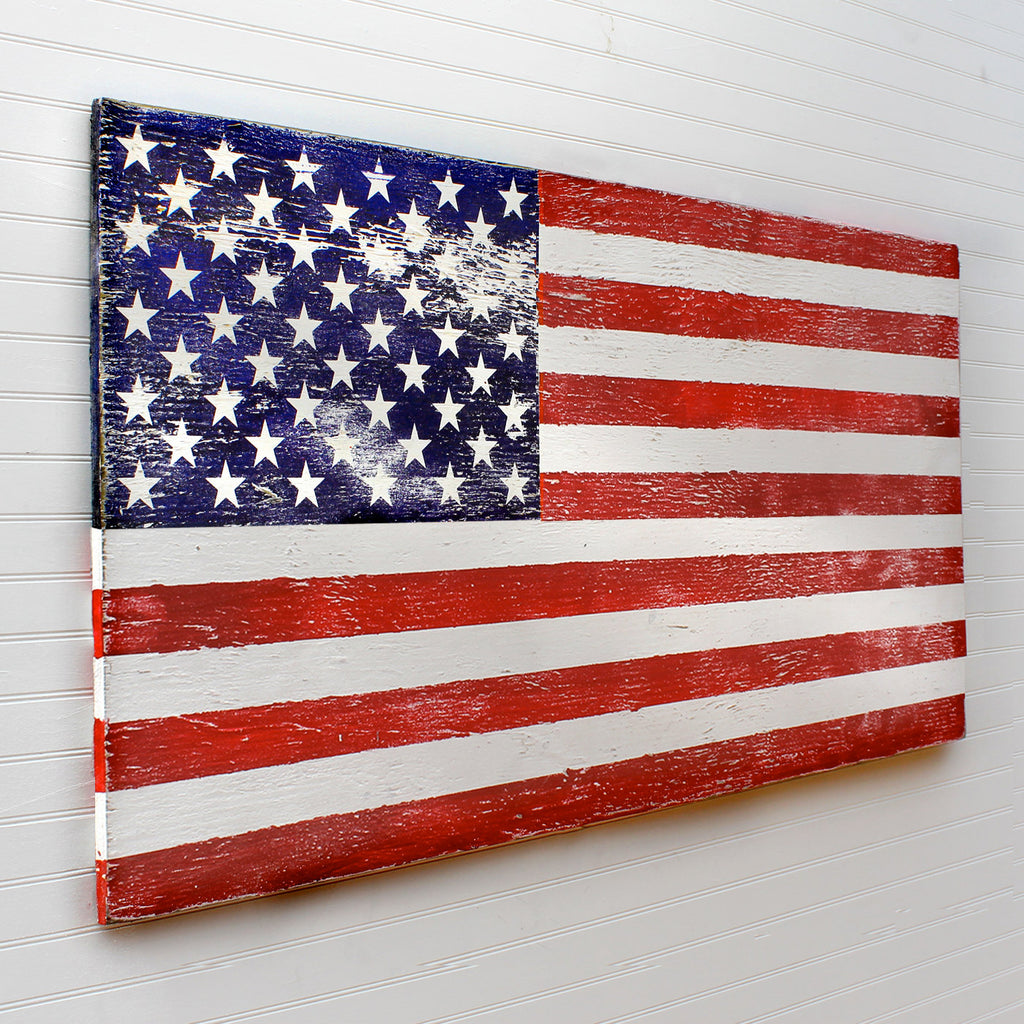 American Flag Wooden Wall Art - Haven America