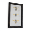 Stack of Three Bees Framed - Haven America