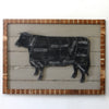 Butcher Cow Framed - Haven America