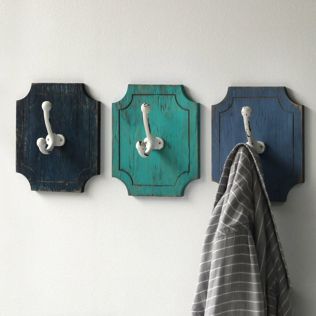 Captains Coat Hooks - 3 pc set - Haven America
