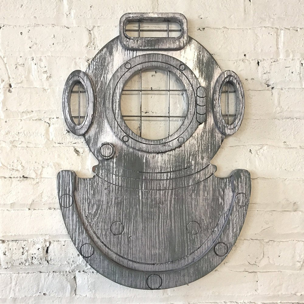 Deep Sea Dive Helmet Wall Art - Haven America