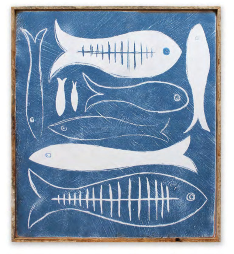 Fish Art Print Framed - Haven America