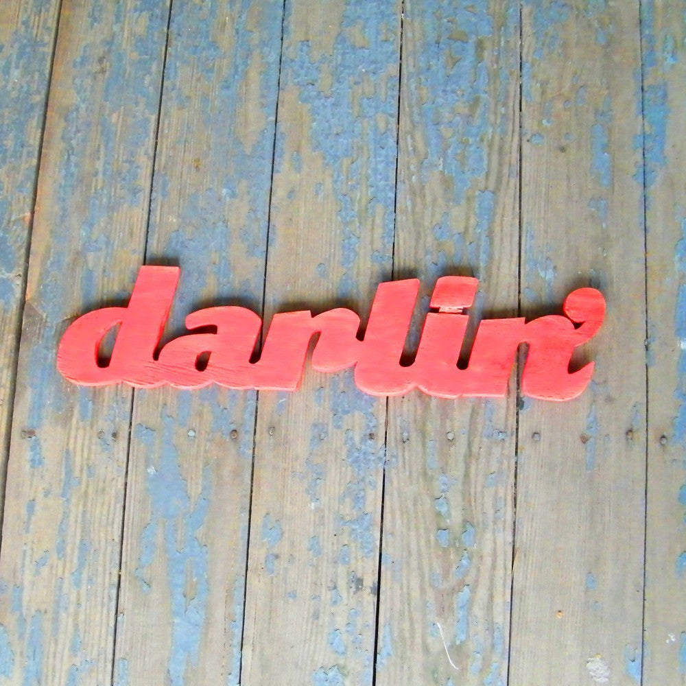Darlin' Word Sign - Haven America