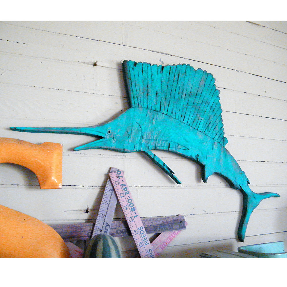Sailfish Wall Art--Small - Haven America
