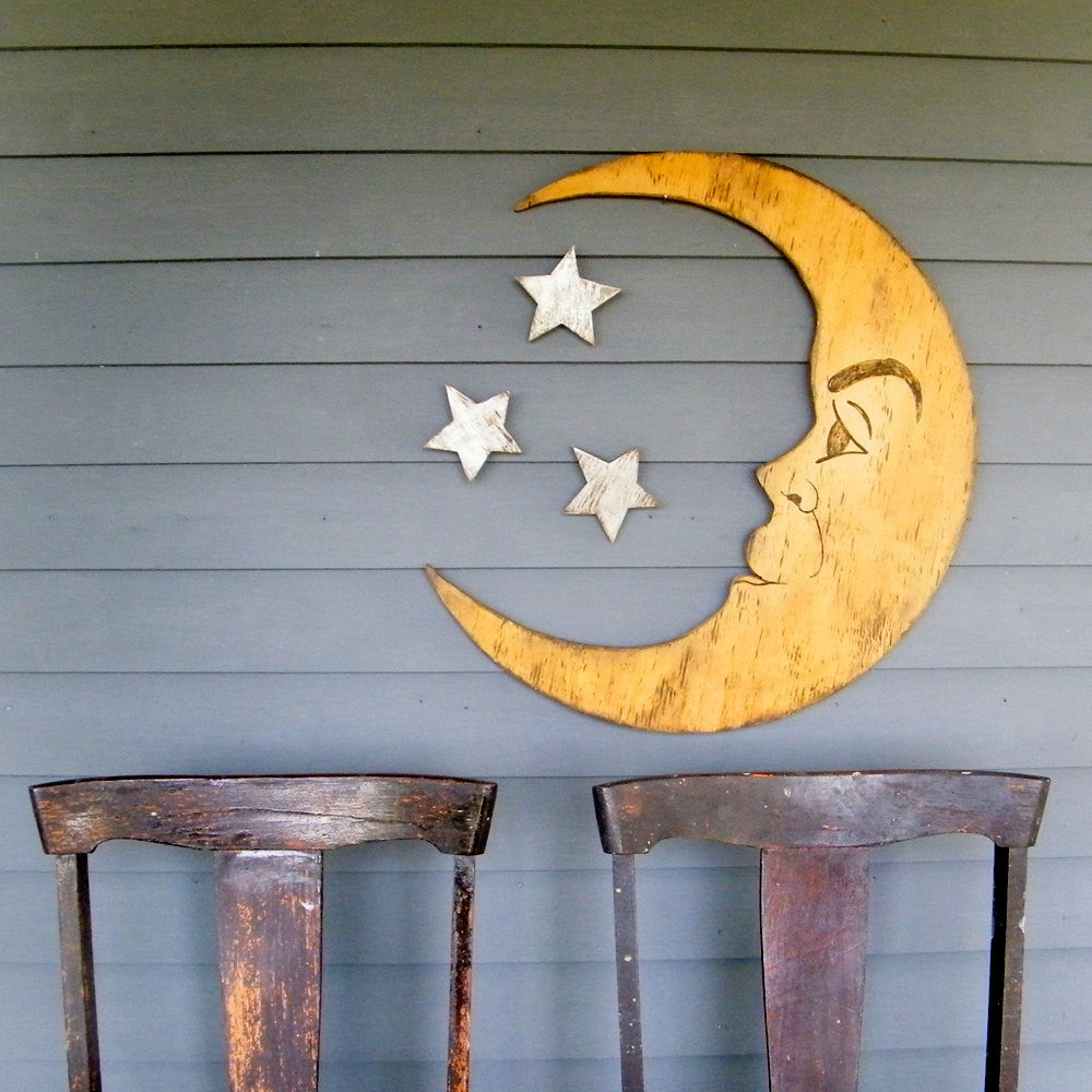 Man in the Moon Wall Art - Haven America