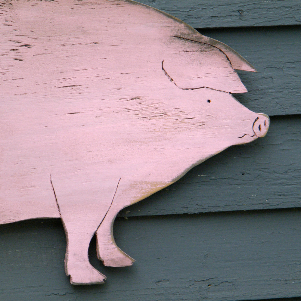 Country Pig Wall Decor - Haven America