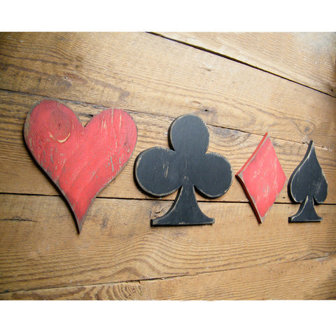 Card Symbols Set Wall Decor - Haven America