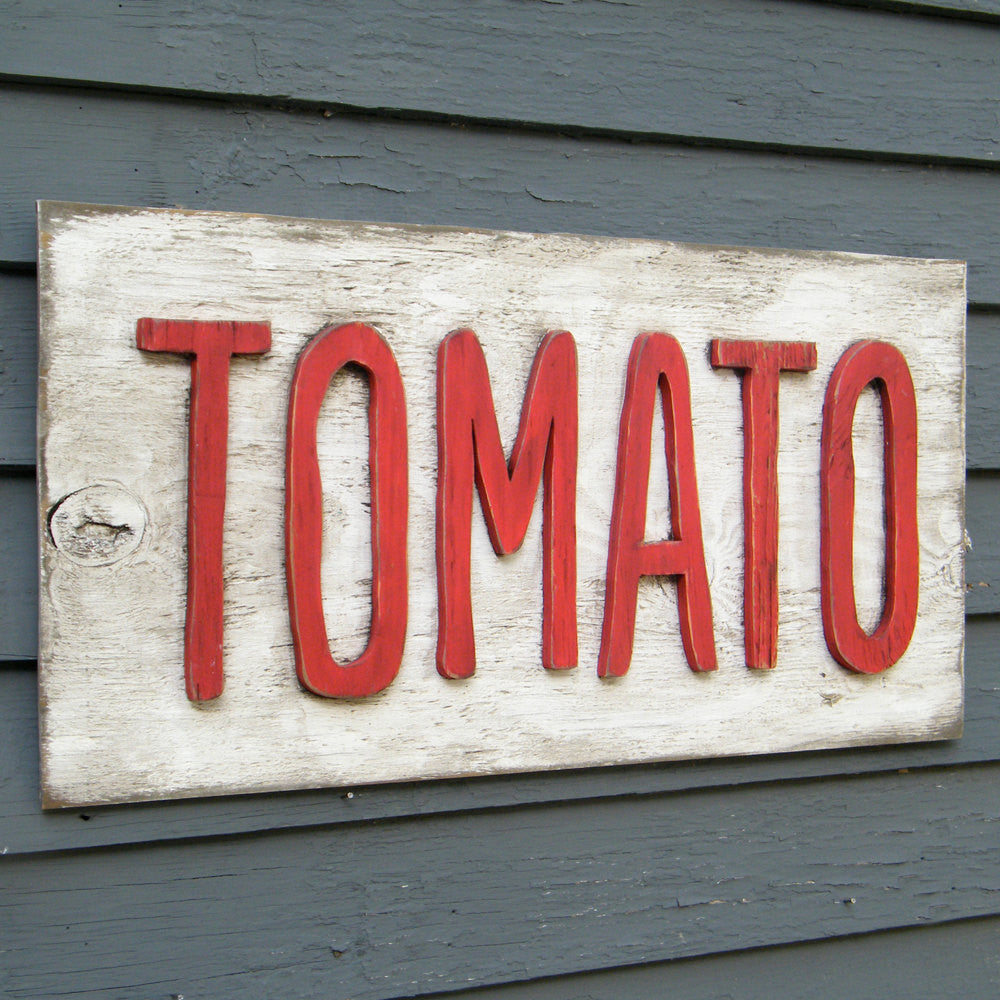 Tomato Road Side Sign - Haven America